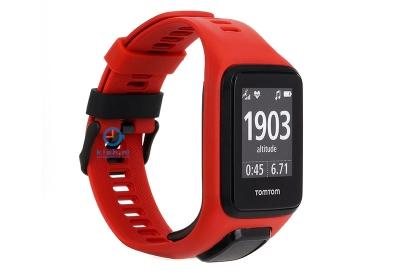 TomTom 2/3 universeel horlogeband rood