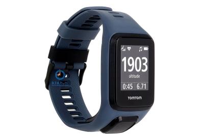 TomTom 2/3 universeel horlogeband donkergrijs
