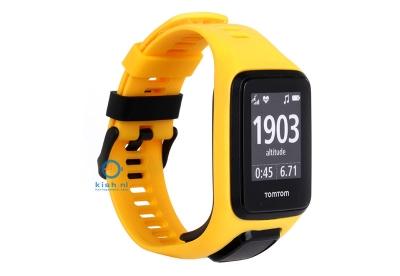 TomTom 2/3 universeel horlogeband geel
