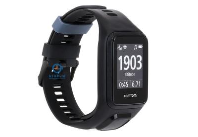 TomTom 2/3 universeel horlogeband zwart