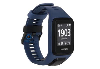 TomTom 2/3 universeel horlogeband donkerblauw