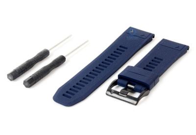 Garmin Fenix 5X/6X horlogeband marineblauw