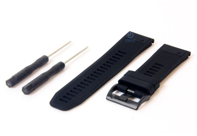 Garmin Fenix 5X/6X horlogeband zwart
