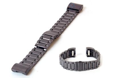 Fitbit Charge 2 horlogeband staal gun metal