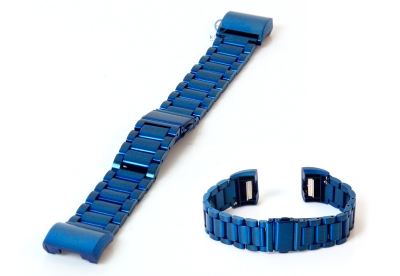 Fitbit Charge 2 horlogeband staal blauw