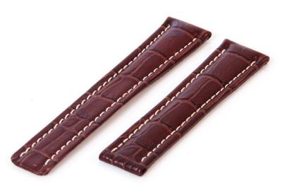 Breitling horlogeband 20mm leer bruin