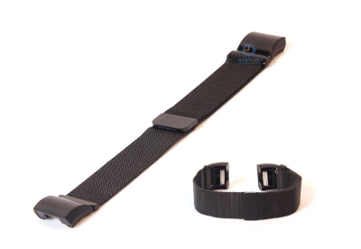 Fitbit Charge 2 horlogeband milanees zwart