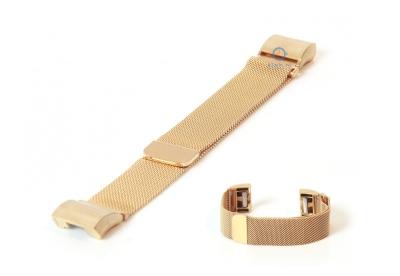 Fitbit Charge 2 horlogeband milanees goud