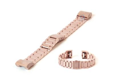 Fitbit Charge 2 horlogeband staal rose goud