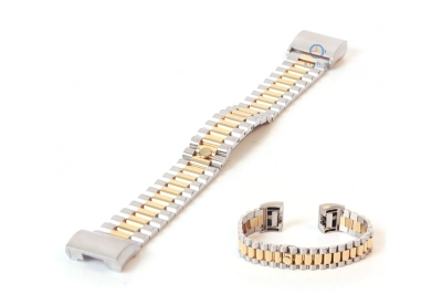 Fitbit Charge 2 horlogeband staal zilver goud
