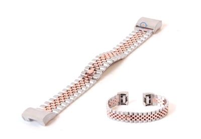 Fitbit Charge 2 horlogeband staal zilver rose goud