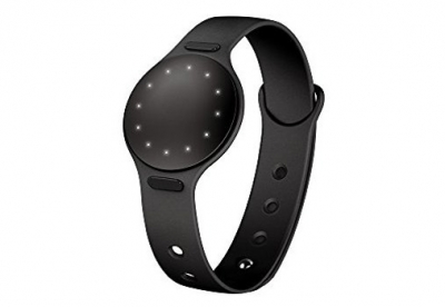Misfit Shine horlogeband zwart