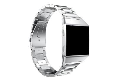 Fitbit Ionic horlogeband staal zilver