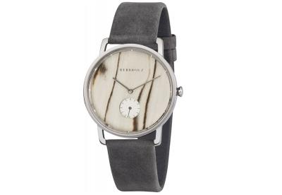 Kerbholz Frida horlogeband White Birch/Asphalt