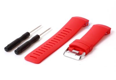 Suunto Core Crush horlogeband rood