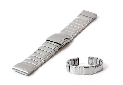Garmin Fenix 5/6 horlogeband staal zilver
