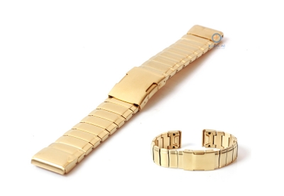 Garmin Fenix 5/6 horlogeband staal goud