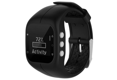 Polar horlogeband A300 zwart