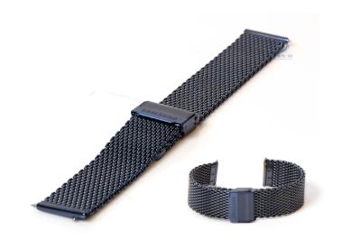 Samsung Gear Sport blue mesh horlogeband