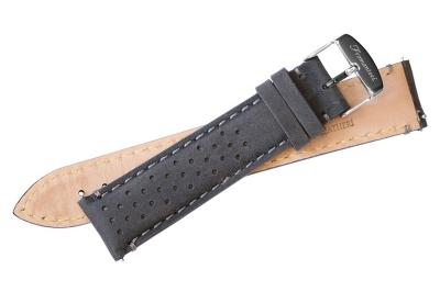 Fromanteel horlogeband vintage grijs perforated