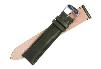 Fromanteel horlogeband groen kalfsleer