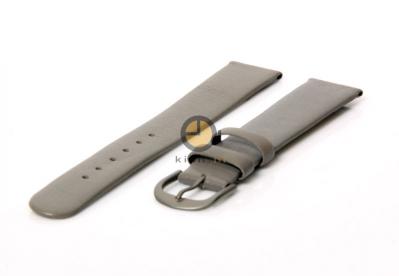 Danish Design horlogeband 15mm leer grijs