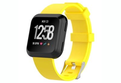 Fitbit Versa horlogeband geel (L)