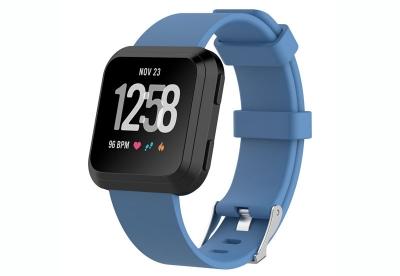 Fitbit Versa horlogeband blauw grijs (L)