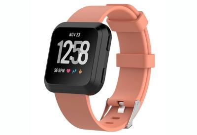 Fitbit Versa horlogeband zalm roze (L)