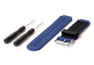Garmin Forerunner 230 horlogeband blauw/zwart