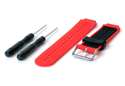 Garmin Forerunner 230 horlogeband rood/zwart