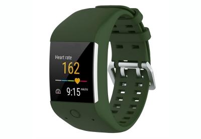 Polar horlogeband M600 donker groen