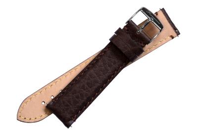 Fromanteel horlogeband leer buffalo bruin