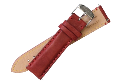 Fromanteel horlogeband leer rood