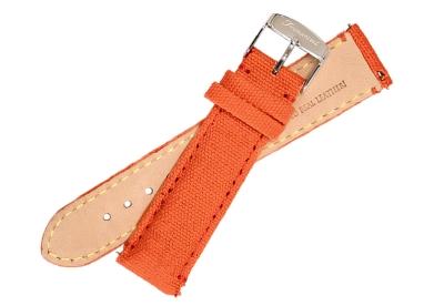 Fromanteel horlogeband canvas oranje