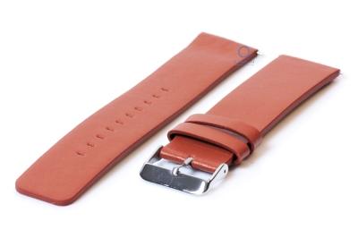 Fitbit Versa horlogeband leer bruin