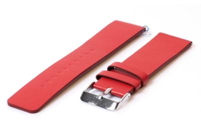 Fitbit Versa horlogeband leer rood