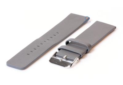 Fitbit Versa horlogeband leer donker grijs