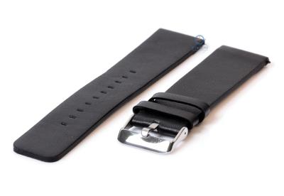Fitbit Versa horlogeband leer zwart