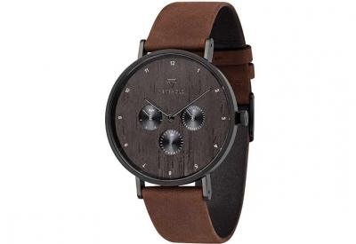 Kerbholz horlogeband Caspar Heritage Wood