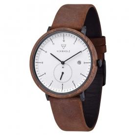 Kerbholz horlogeband Anton Walnut Tobacco