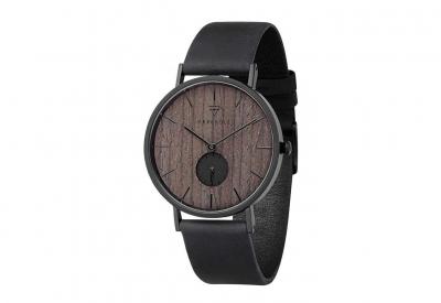 Kerbholz horlogeband Fritz Darkwood Midnight