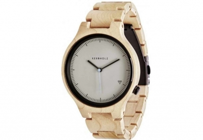Kerbholz horlogeband Lamprecht Maple