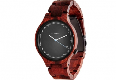 Kerbholz horlogeband Lamprecht Rosewood