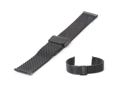 Samsung Galaxy horlogeband milanees zwart (42MM)