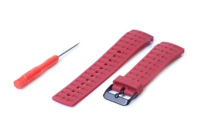 Suunto Elementum horlogeband rood
