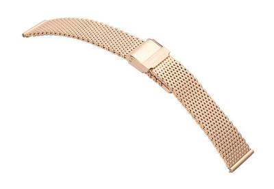 Samsung Galaxy horlogeband milanees rose goud (42mm)