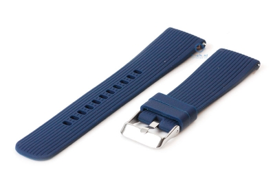 Samsung Galaxy 42mm horlogeband donker blauw