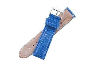 Fromanteel horlogeband canvas kings blauw