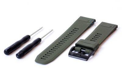 Garmin Fenix 5X/6X horlogeband donker groen